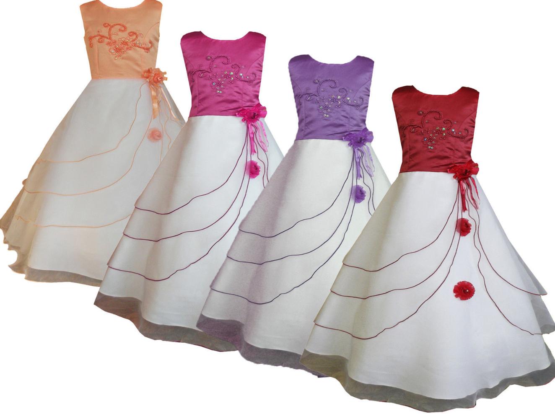 Slavnostní dívčí šaty empty bd49bc5927