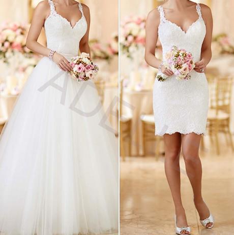 4142b00a0b4 Luxusní svatební šaty set